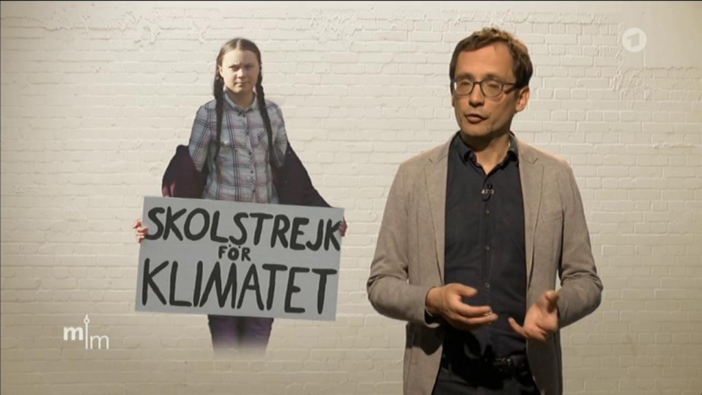 ARD-Redakteuer Gabo Hallors kommentiert den Einsatz der Schüler und von Greta Thunberg während der Unterrichtszeit