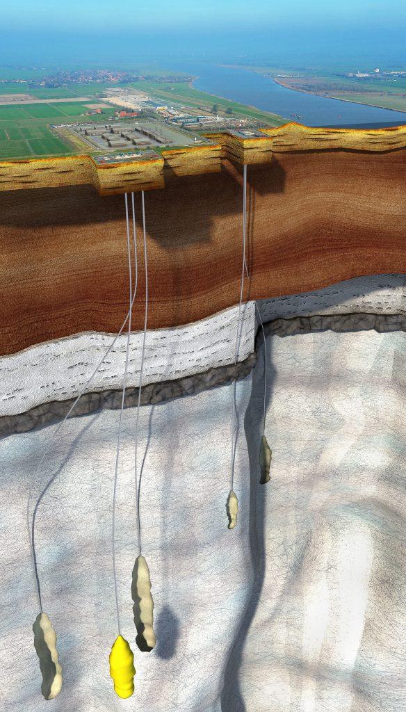 Energiespeicher in unterirdischen Salzkavernen