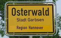 Osterwald Ortsschild